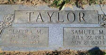 TAYLOR, ELMYRA M - Scott County, Arkansas | ELMYRA M TAYLOR - Arkansas Gravestone Photos