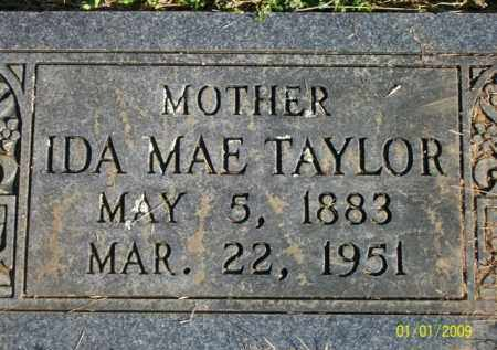 HANNA TAYLOR, IDA MAE - Scott County, Arkansas | IDA MAE HANNA TAYLOR - Arkansas Gravestone Photos