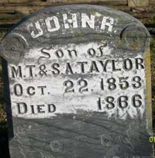 TAYLOR, JOHN R - Scott County, Arkansas | JOHN R TAYLOR - Arkansas Gravestone Photos