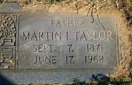 TAYLOR, MARTIN ISAIAH - Scott County, Arkansas | MARTIN ISAIAH TAYLOR - Arkansas Gravestone Photos
