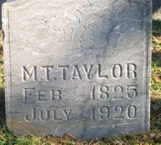 TAYLOR, MARTIN T - Scott County, Arkansas | MARTIN T TAYLOR - Arkansas Gravestone Photos