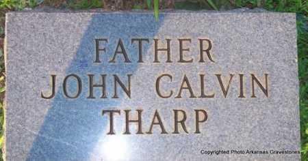 THARP, JOHN CALVIN - Scott County, Arkansas | JOHN CALVIN THARP - Arkansas Gravestone Photos