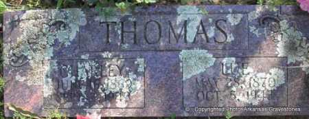 THOMAS, LUE - Scott County, Arkansas | LUE THOMAS - Arkansas Gravestone Photos