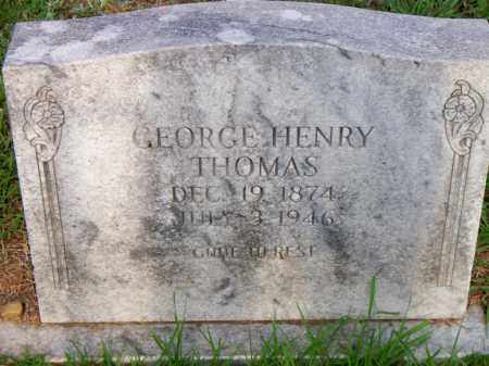 THOMAS, GEORGE HENRY - Scott County, Arkansas | GEORGE HENRY THOMAS - Arkansas Gravestone Photos
