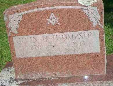 THOMPSON, JOHN H - Scott County, Arkansas | JOHN H THOMPSON - Arkansas Gravestone Photos