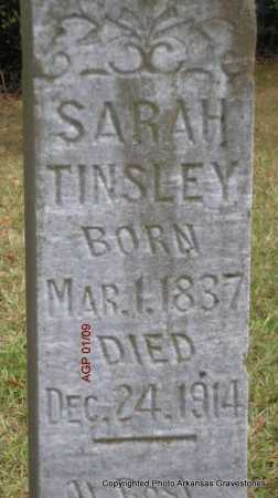 TINSLEY, SARAH - Scott County, Arkansas | SARAH TINSLEY - Arkansas Gravestone Photos