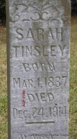 TINSLEY, SARAH - Scott County, Arkansas | SARAH TINSLEY - Arkansas Gravestone Photos