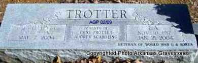 TROTTER, L A - Scott County, Arkansas | L A TROTTER - Arkansas Gravestone Photos