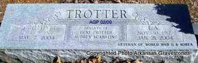 TROTTER, DOROTHY L - Scott County, Arkansas | DOROTHY L TROTTER - Arkansas Gravestone Photos