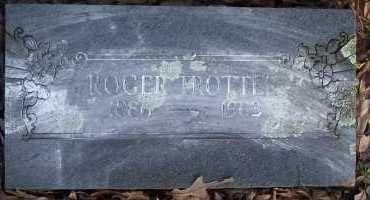 TROTTER, ROGER - Scott County, Arkansas | ROGER TROTTER - Arkansas Gravestone Photos