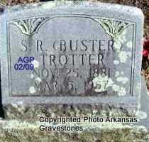 TROTTER, S R  (BUSTER) - Scott County, Arkansas | S R  (BUSTER) TROTTER - Arkansas Gravestone Photos
