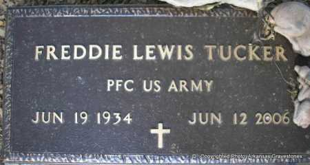 TUCKER  (VETERAN), FREDDIE LEWIS - Scott County, Arkansas | FREDDIE LEWIS TUCKER  (VETERAN) - Arkansas Gravestone Photos
