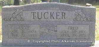 TUCKER, ANNIE FAY MURPHREE - Scott County, Arkansas | ANNIE FAY MURPHREE TUCKER - Arkansas Gravestone Photos