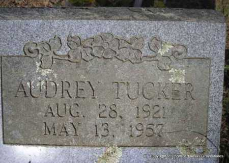TUCKER, AUDREY - Scott County, Arkansas | AUDREY TUCKER - Arkansas Gravestone Photos