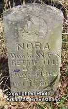 TULL, NORA - Scott County, Arkansas | NORA TULL - Arkansas Gravestone Photos