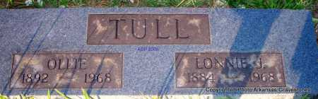 TULL, OLLIE - Scott County, Arkansas | OLLIE TULL - Arkansas Gravestone Photos