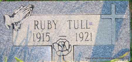 TULL, RUBY - Scott County, Arkansas | RUBY TULL - Arkansas Gravestone Photos