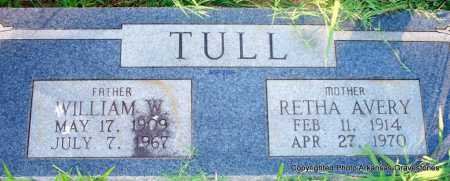TULL, WILLIAM W - Scott County, Arkansas | WILLIAM W TULL - Arkansas Gravestone Photos