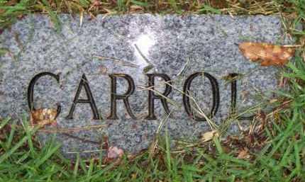 UNKNOWN, CARROL - Scott County, Arkansas | CARROL UNKNOWN - Arkansas Gravestone Photos