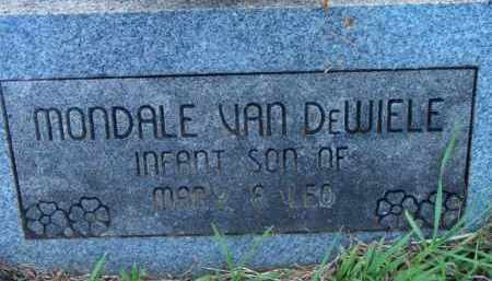 VAN DEWIELE, MONDALE - Scott County, Arkansas | MONDALE VAN DEWIELE - Arkansas Gravestone Photos