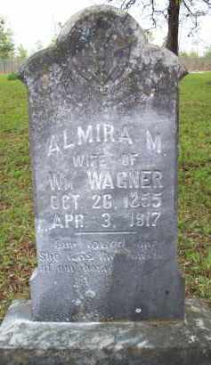 WAGNER, ALMIRA M - Scott County, Arkansas | ALMIRA M WAGNER - Arkansas Gravestone Photos