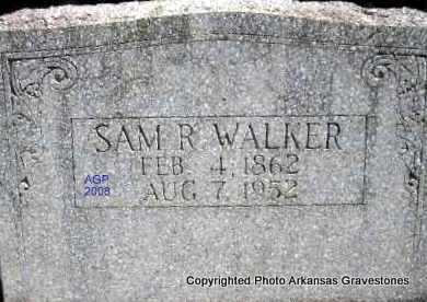 WALKER, SAM R - Scott County, Arkansas | SAM R WALKER - Arkansas Gravestone Photos