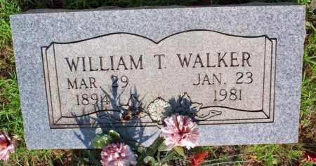 WALKER, WILLIAM T - Scott County, Arkansas | WILLIAM T WALKER - Arkansas Gravestone Photos
