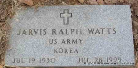 "WATTS  (VETERAN KOR), JARVIS RALPH ""HEAVY"" - Scott County, Arkansas 