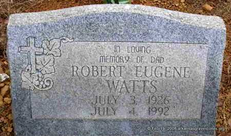 "WATTS, ROBERT EUGENE ""JAKE"" - Scott County, Arkansas 