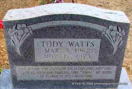 "WATTS, RONALD WENDALL ""TODY"" - Scott County, Arkansas 