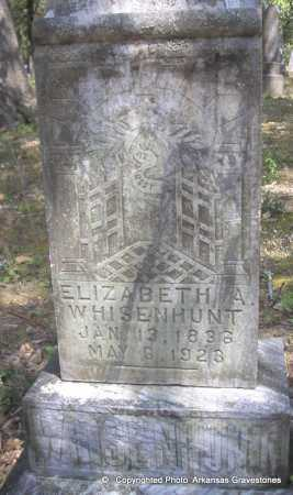 WHISENHUNT, ELIZABETH A - Scott County, Arkansas | ELIZABETH A WHISENHUNT - Arkansas Gravestone Photos