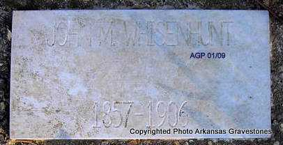 WHISENHUNT, JOHN M - Scott County, Arkansas | JOHN M WHISENHUNT - Arkansas Gravestone Photos