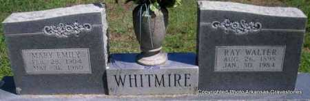WHITMIRE, RAY WALTER - Scott County, Arkansas | RAY WALTER WHITMIRE - Arkansas Gravestone Photos
