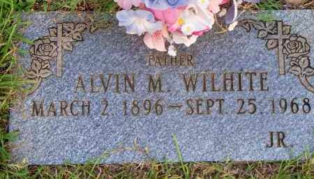 WILHITE, ALVIN M - Scott County, Arkansas | ALVIN M WILHITE - Arkansas Gravestone Photos