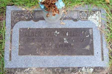WILLHITE, ALBERT OLEN - Scott County, Arkansas | ALBERT OLEN WILLHITE - Arkansas Gravestone Photos