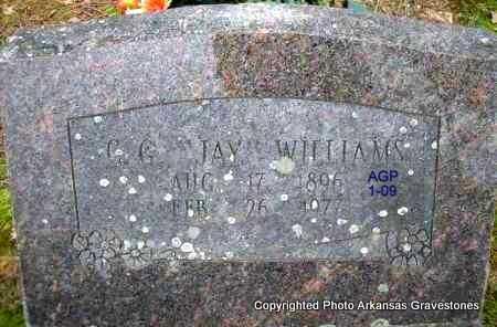 "WILLIAMS, CALVIN G ""JAY"" - Scott County, Arkansas | CALVIN G ""JAY"" WILLIAMS - Arkansas Gravestone Photos"