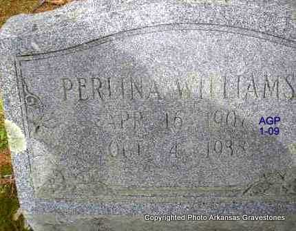 WILLIAMS, PERLINA - Scott County, Arkansas | PERLINA WILLIAMS - Arkansas Gravestone Photos
