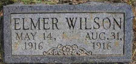 WILSON, ELMER - Scott County, Arkansas | ELMER WILSON - Arkansas Gravestone Photos