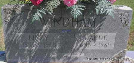 WINDHAM, LINZY - Scott County, Arkansas | LINZY WINDHAM - Arkansas Gravestone Photos