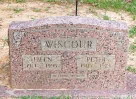WISCOUR, HELEN - Scott County, Arkansas | HELEN WISCOUR - Arkansas Gravestone Photos