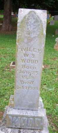 WOOD, WILEY W S - Scott County, Arkansas | WILEY W S WOOD - Arkansas Gravestone Photos