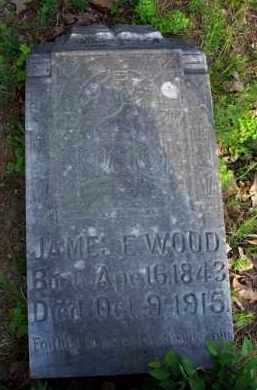WOOD  (VETERAN CSA), JAMES E - Scott County, Arkansas | JAMES E WOOD  (VETERAN CSA) - Arkansas Gravestone Photos
