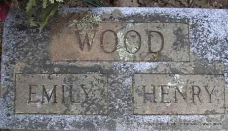 WOOD, EMILY - Scott County, Arkansas | EMILY WOOD - Arkansas Gravestone Photos
