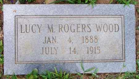 WOOD, LUCY M - Scott County, Arkansas | LUCY M WOOD - Arkansas Gravestone Photos