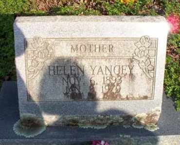 YANCEY, HELEN - Scott County, Arkansas | HELEN YANCEY - Arkansas Gravestone Photos