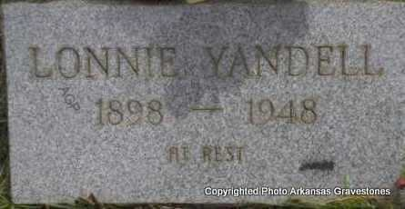 YANDELL, LONNIE - Scott County, Arkansas | LONNIE YANDELL - Arkansas Gravestone Photos