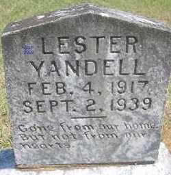 YANDELL, LESTER - Scott County, Arkansas | LESTER YANDELL - Arkansas Gravestone Photos