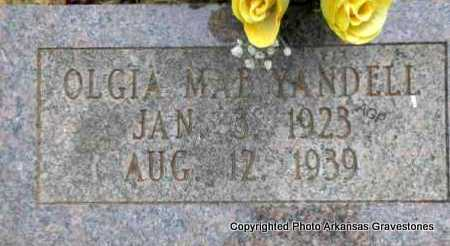 YANDELL, OLGIA MAE - Scott County, Arkansas | OLGIA MAE YANDELL - Arkansas Gravestone Photos