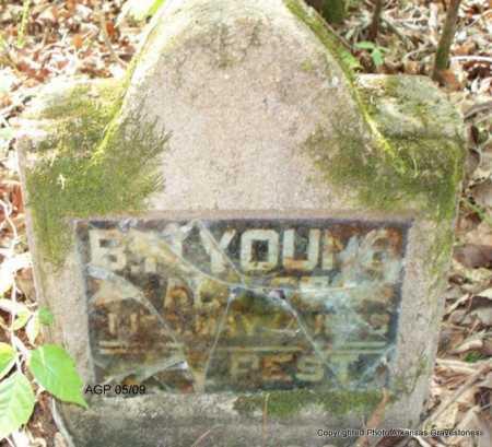 YOUNG, B N - Scott County, Arkansas | B N YOUNG - Arkansas Gravestone Photos