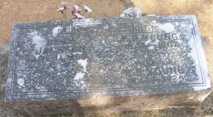 YOUNG, P  B - Scott County, Arkansas | P  B YOUNG - Arkansas Gravestone Photos